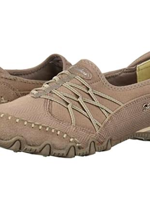 Замшевые кроссовки skechers 37.5 р