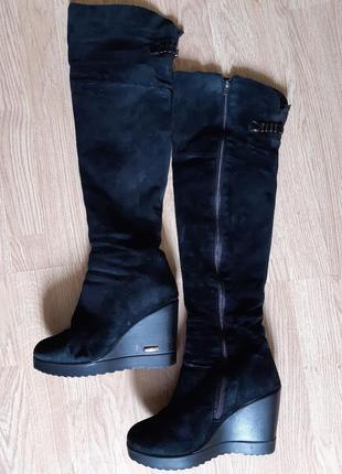 Ботфорти,чоботи високі