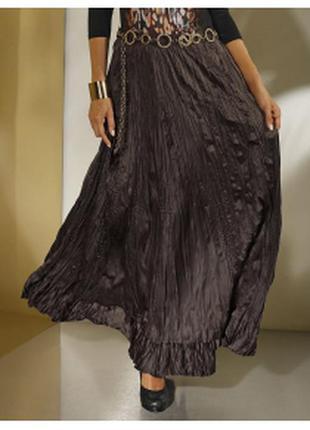 Красивая, новая женская юбка жатка marks & spencer