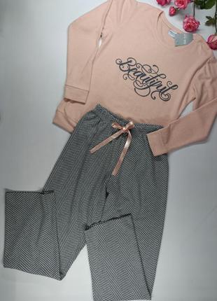 М'якенька жіноча піжама bella secret 5748