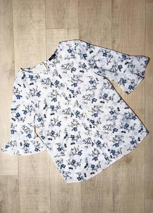 Нежная блуза в цветочный принт  m&co