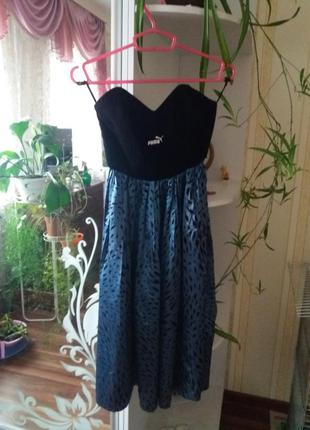 Платье с корсетом puma