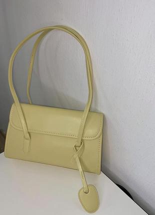 Вмістка сумка оливкового кольору