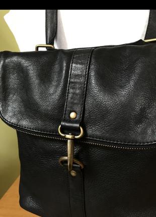 Женский кожаный рюкзак fat face.
