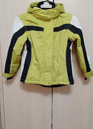 Лыжная детская куртка осень-зима 116 kidz alive