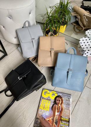 Рюкзак-сумка на 3 отдела, жіночий вмісткий рюкзак