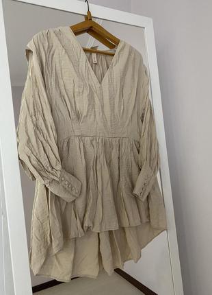 Плаття кремового кольору h&m