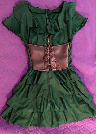 Платье с корсетом корсет ♥