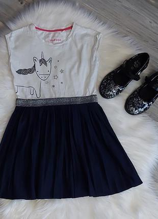 Милейшее платье для девочки   на 6лет
