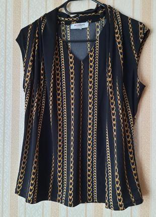 Шикарная блуза с цепями morgan