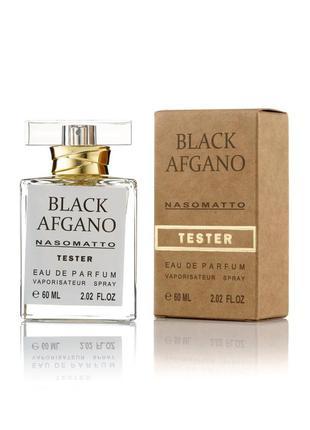 Парфюмированная вода тестер nasomatto black afgano