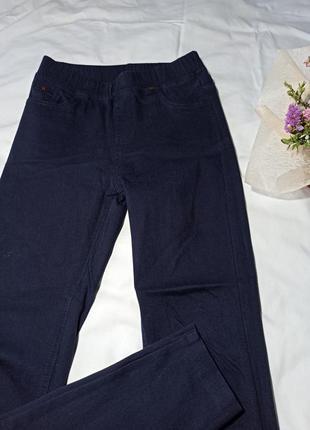 Штаны стрейч джинсы