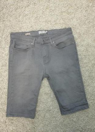 Стильные мужские шорты скинни topman 34 в прекрасном состоянии