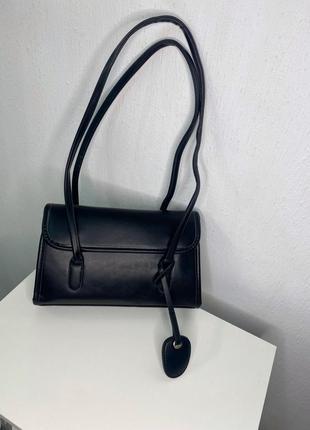 Вмістка чорна сумка
