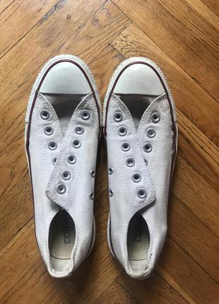 Кеды converse, белые конверсы