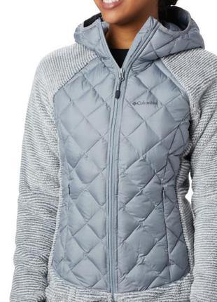 Columbia  термо куртка  стеганая теплая для спорта бега мега крутая и стильная