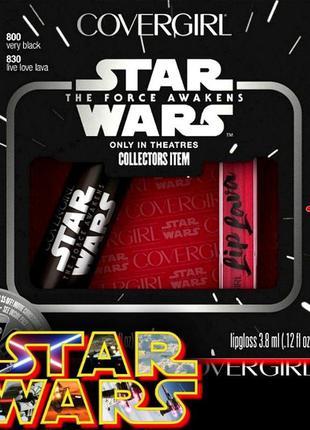 Тушь для ресниц и блеск для губ в наборе covergirl star wars collectors items