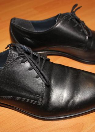 Полностью кожаные классические туфли fretz men (switzerland)