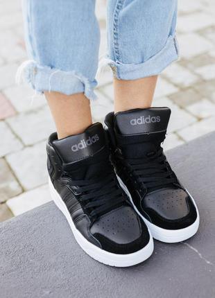 Кроссовки adidas attitude black кросівки