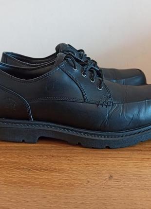 Ботинки туфли кожаные timberland waterproof