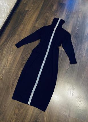 Платье с шерстью и кашемиром