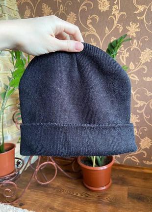 Шапка, шапка бини, осенняя шапка-бини от sinsay