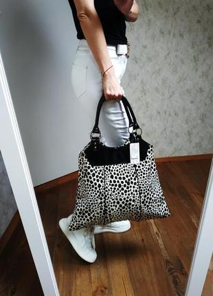 Стильная сумка шоппер.