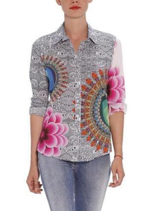 Рубашка в цветах