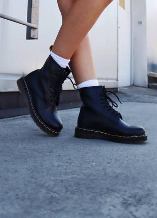 Ботинки черевики dr. martens 1460 black