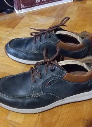 Фирменные мокасины, туфли натуральная кожа