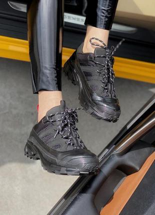 Кроссовки кросівки arthur sneakers black