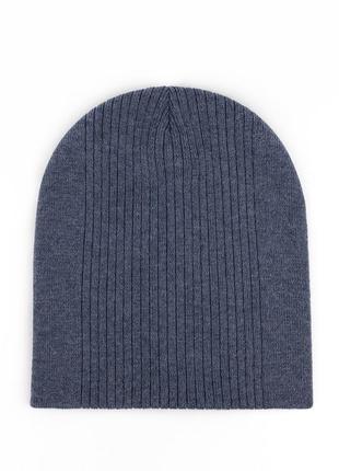 Шапка калифорния 52-58ррдвойная базовая шапочка их хлопковой пряжи.