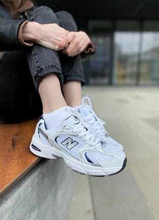 Кросівки new balance 530 silver кроссовки