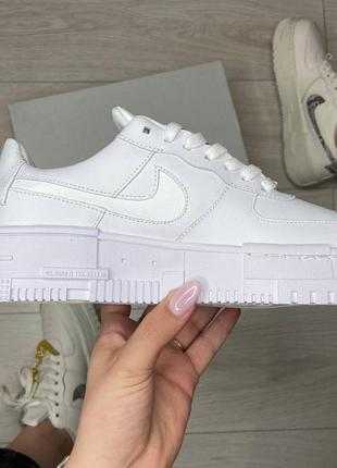 Nike pixel white