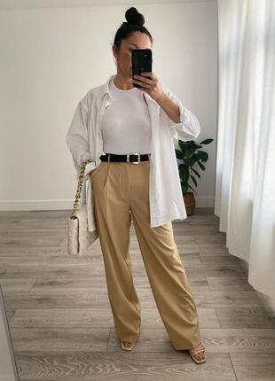 Zara брюки wide leg