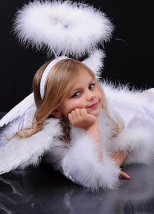 Маскарадный нимб ангелочек для карнавального костюма ангела +подарок