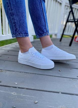 Adidas samba white кроссовки адидас самба наложенный платёж купить