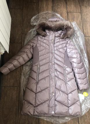 Новый стильный пуховик зима оригинал брендовый kenneth kole пальто