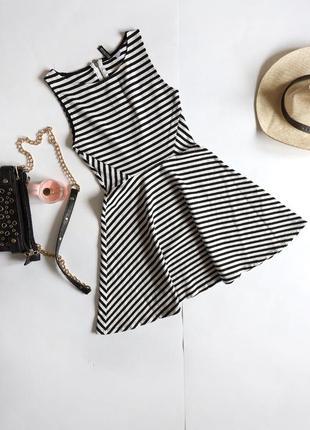 Divided смугаста міні-сукня