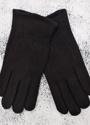 """Мужские перчатки """"wave"""" черные"""