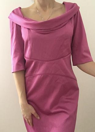 Яскраве атласне  плаття