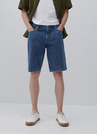 Мужские джинсовые шорты reserved 32 размер