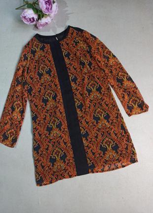 Стильное прямое платье mango