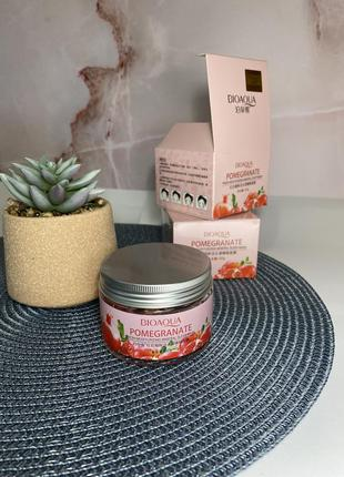 Маска ночная bioaqua pomegranate fresh moisturizing mineral sleep mask