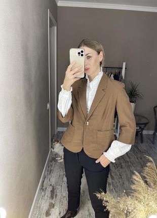 Пиджак с укорочённым рукавом