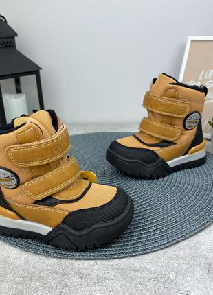Зимние ботинки сапожки для мальчика