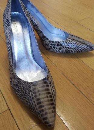 Туфли и кожи питона от stylesnob. размер 41
