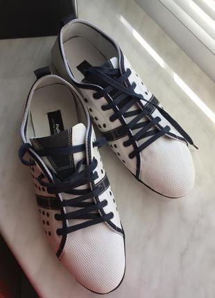 Туфли, кеды, мокасины кожанные от бренда vitto rossi, новые с бирками! италия