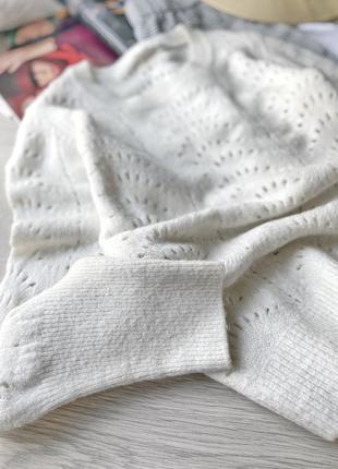 Шерстяной джемпер свитер gap