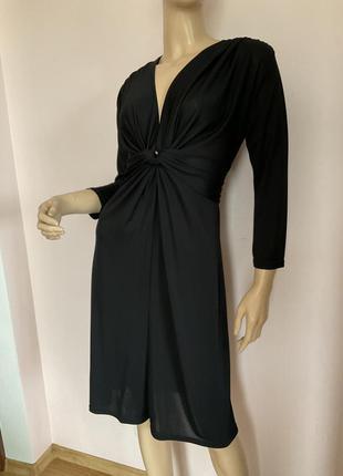 Чёрное елегантное платье/m-l/brend fifilles paris